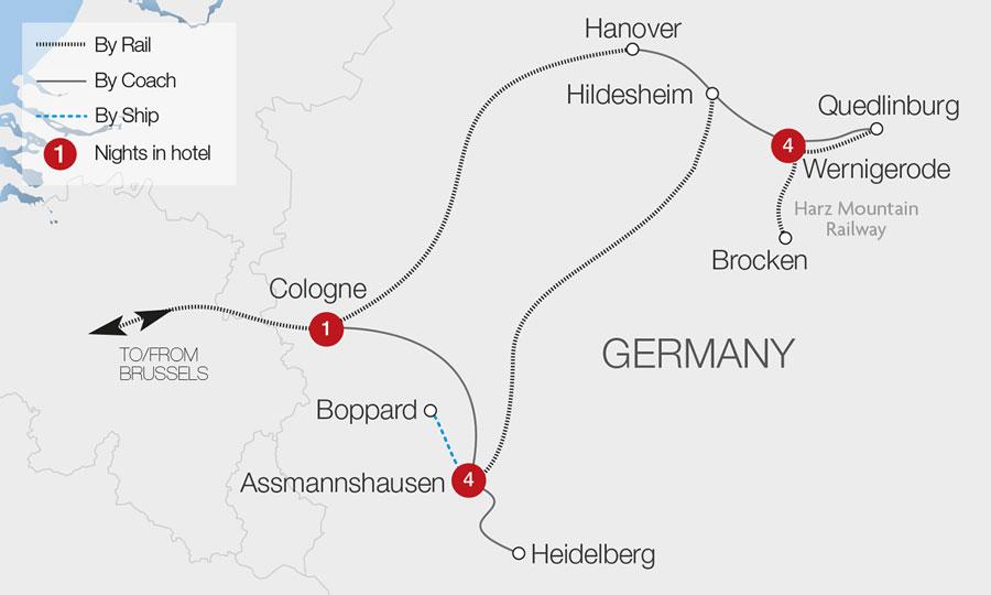 Alte Bauernschänke, Assmannshausen   Great Rail Journeys