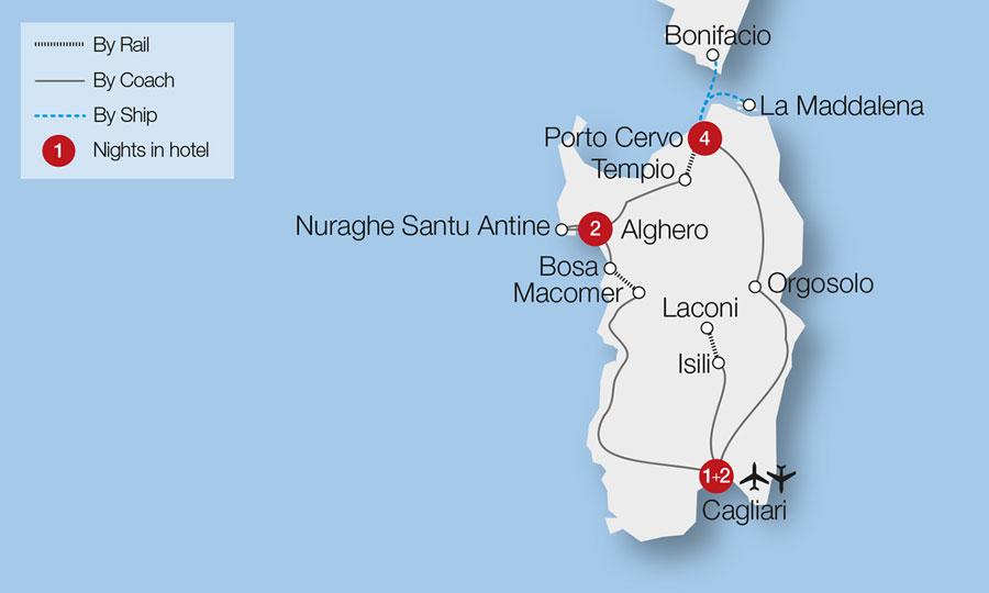 Sardinia Corsica Tour Great Rail Journeys