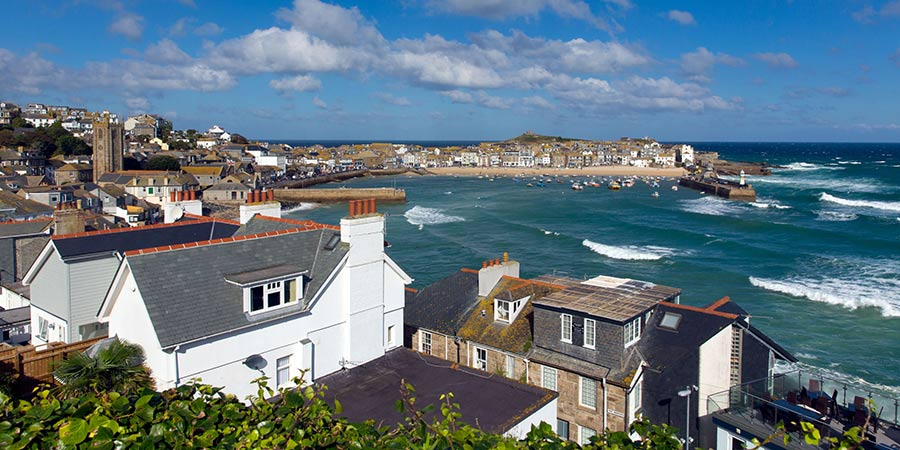 St Ives Bay England