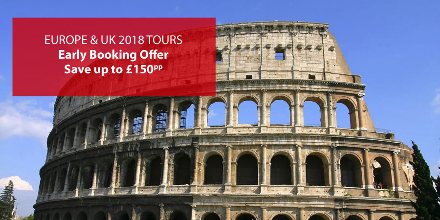 Europe and UK 2018 tours offer