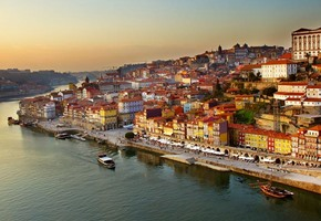 Porto at sunset