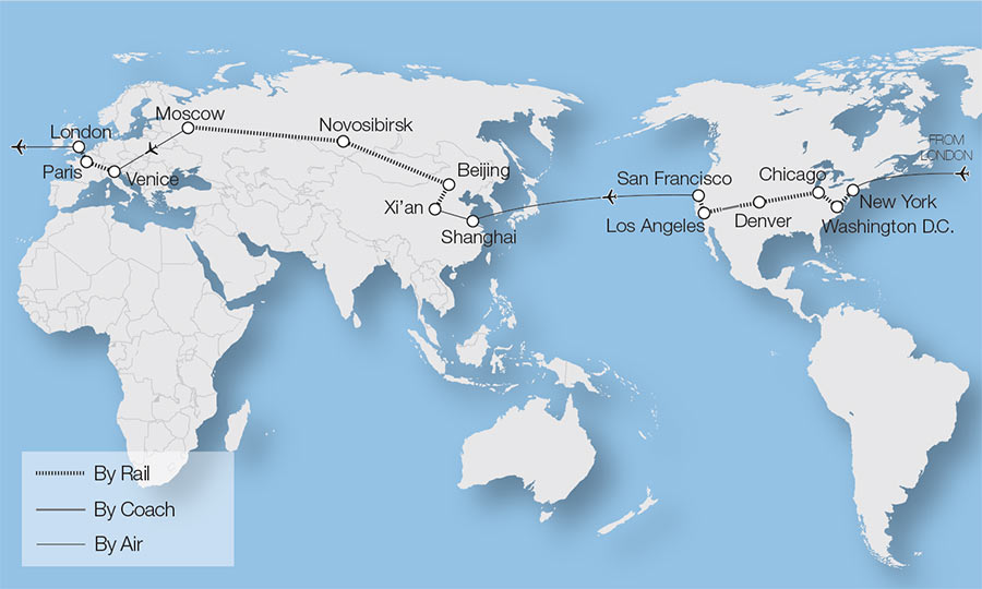 Denver World Map.Denver Train Tours Rail Tours Great Rail Journeys