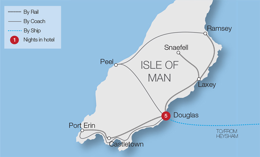 Vintage Railways of the Isle of Man Great Rail Journeys