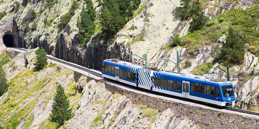 Nuria Valley Cogwheel Railway