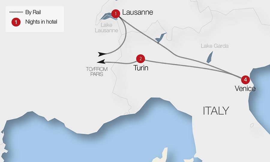 Lausanne Train Holidays Rail Tours Great Rail Journeys