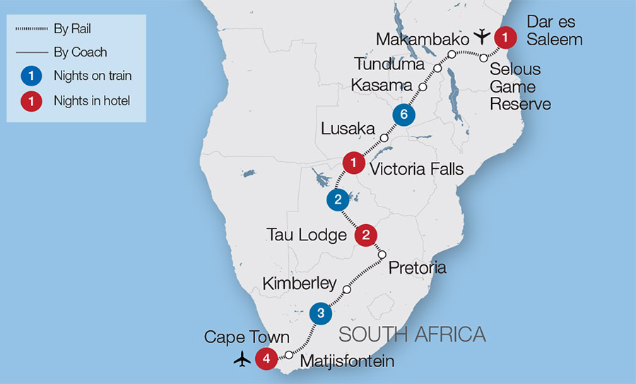 South Africa Train Tours Tours Great Rail Journeys