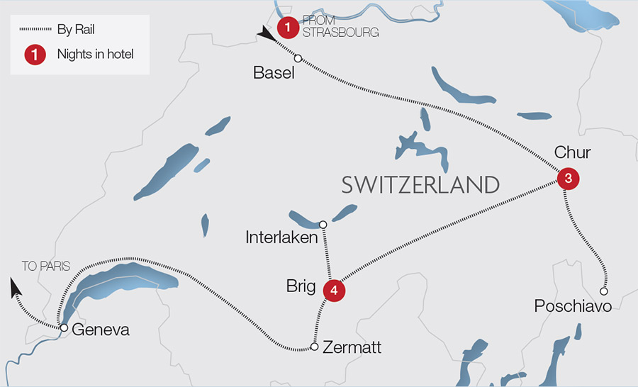 Jungfraujoch Train Holidays Tours Great Rail Journeys