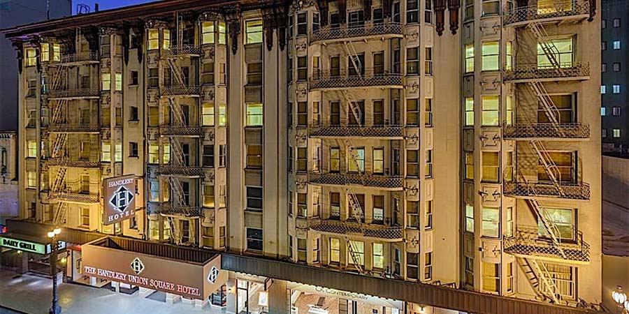 Handlery Hotel San Francisco Restaurant