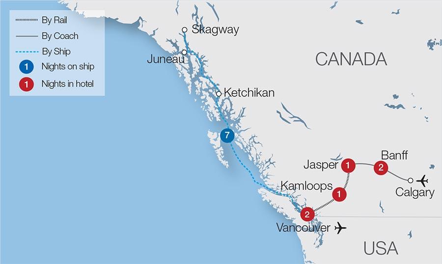 7d5e30c52399c1 Premium Rockies   Alaska Rail Tours