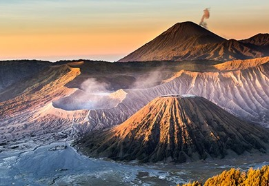 Mount Bromo Volcanoes, Java