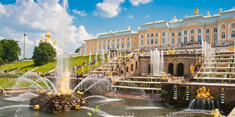 Peterhof Palace, St Petersburg