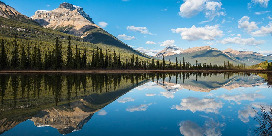 Banff National Park Waterfowl Lake
