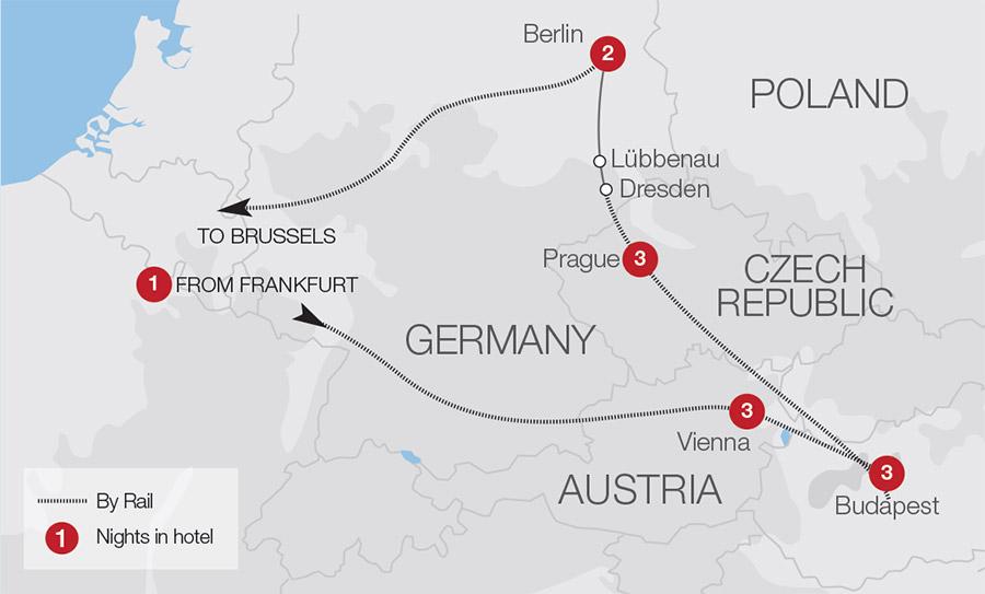 Austrian Train Holidays & Escorted Tours | Great Rail Journeys