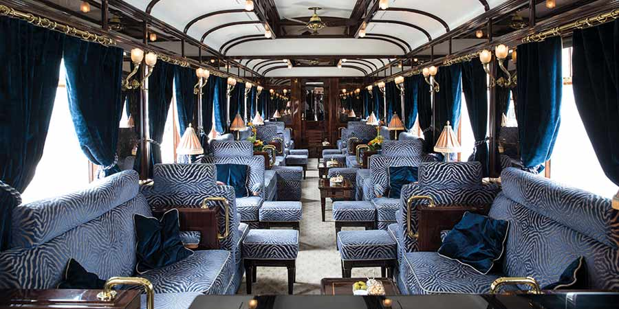 Venice Simplon-Orient-Express Bar Seating