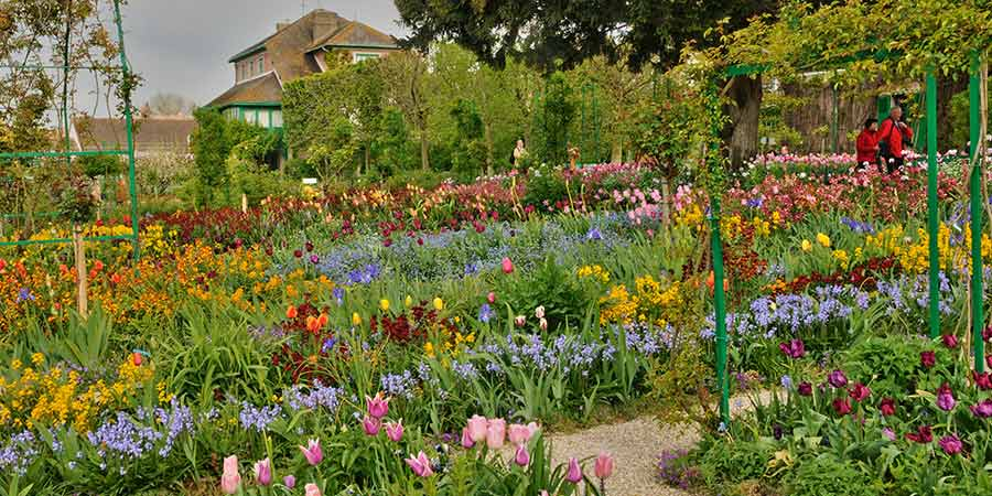 Monet House In Giverny