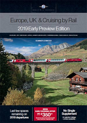 Europe, UK & Cruising by Rail 2018/19