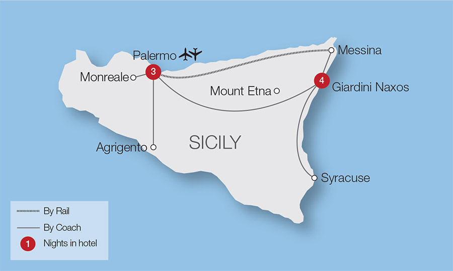 The Magic of Sicily Tour | Great Rail Journeys