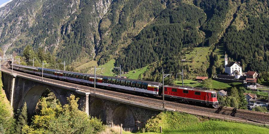 The Gotthard Panorama Express