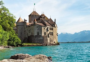 Chateu de Chillon Switzerland
