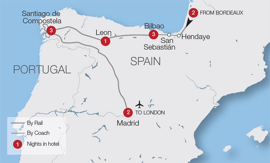 Spain Train Holidays & Rail Tours | Great Rail Journeys on map of peru cities, map of germany with cities, map of cuba, map from spain, map of europe, map of islets of granada nicaragua, map of africa with cities, map of spain, map of canada with cities, map of nicaragua with cities, map of espana in spanish, tourist map of granada espana, map of madrid the city,