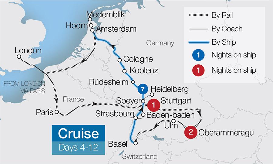 Oberammergau Germany Map.Oberammergau 2020 Passion Play Tours Great Rail Journeys