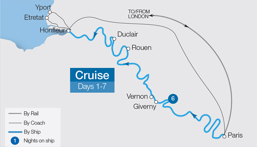 Seine Escorted River Cruises | 2019/20 Cruises on sale ... on rhône river, dnieper river map, river thames, po river, ganges river, tigris river map, paris map, english channel map, pont alexandre iii, mediterranean sea map, loire river, pont neuf, loire map, place de la concorde, thames river map, normandy map, elbe river map, shannon river map, garonne river map, bay of biscay map, danube map, english channel, ruhr river map, vistula river map, france map, tiber river map, palace of versailles, french riviera, oder river map, po river map, tagus river map, mississippi river,