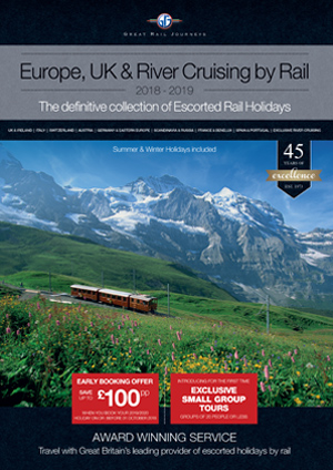 Europe, UK & Cruising by Rail 2019