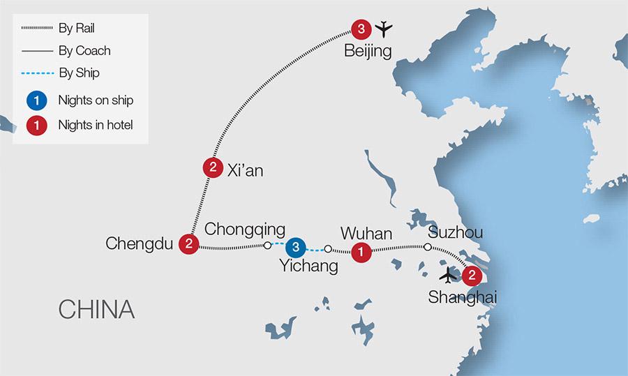 China Escorted Rail Tours Train Tours Great Rail Journeys