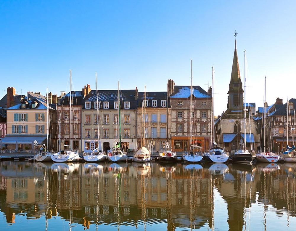 Honfleur Train Tours & Rail Tours | Great Rail Journeys