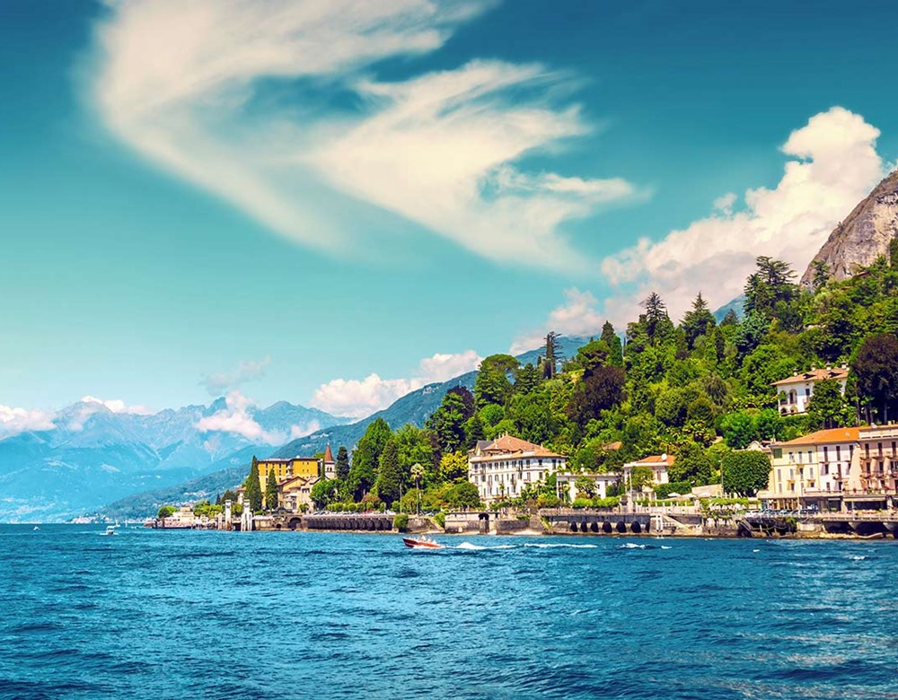 Cadenabbia beside Lake Como