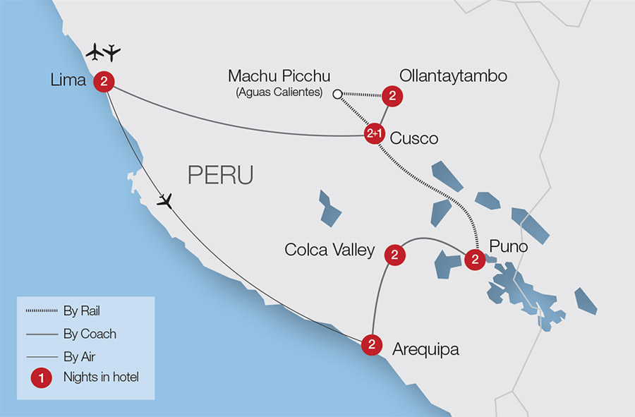 Machu Picchu & the Andes Tour | Great Rail Journeys