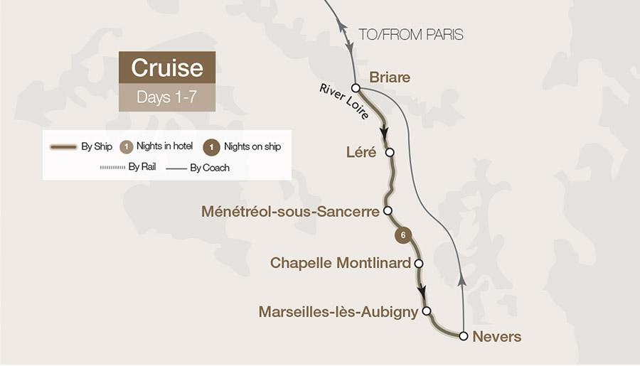 The Loire Valley Waterways Tour | Great Rail Journeys
