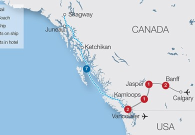 Canada Rail Holidays - Escorted Tours & Trips | Great Rail Journeys