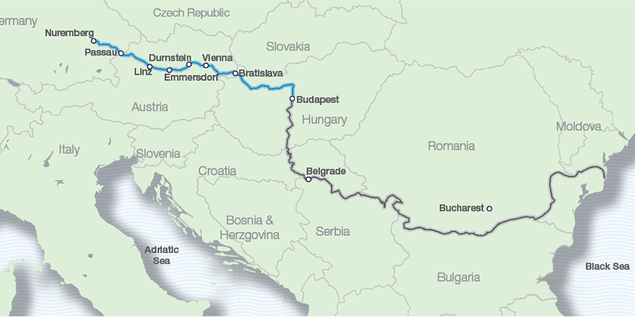 Danube Escorted River Cruises 2019 20 Cruises On Sale Great Rail