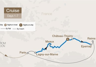 France's Waterways from Champagne to Paris