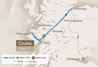 Scottish Islands & Lochs Cruise - Lord of the Glens
