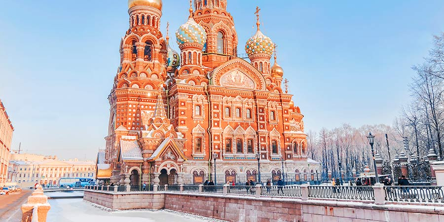 Church Of The Savior, St Petersburg