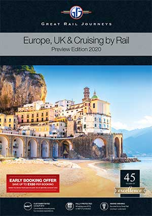 Europe, UK & Cruise by Rail Preview 2020