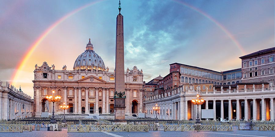 Vatican At Sunrise
