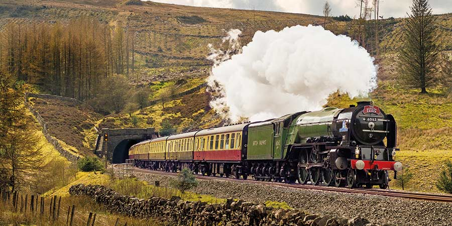 The Aberdonian Steam Train - © Alan Weaver