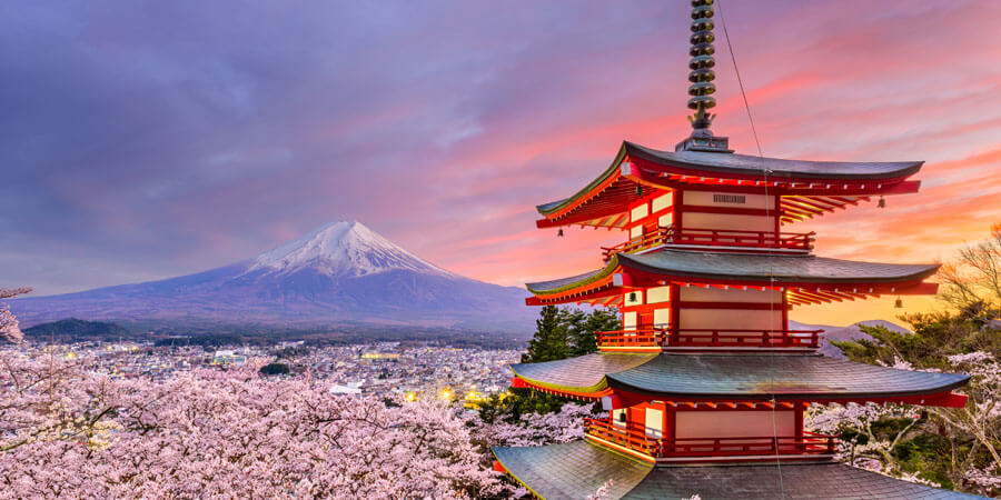 Japan scenic view